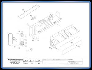 Broom Model Plasser Standard Schematic