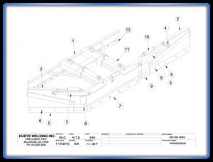 Wing Model 925 Schematic